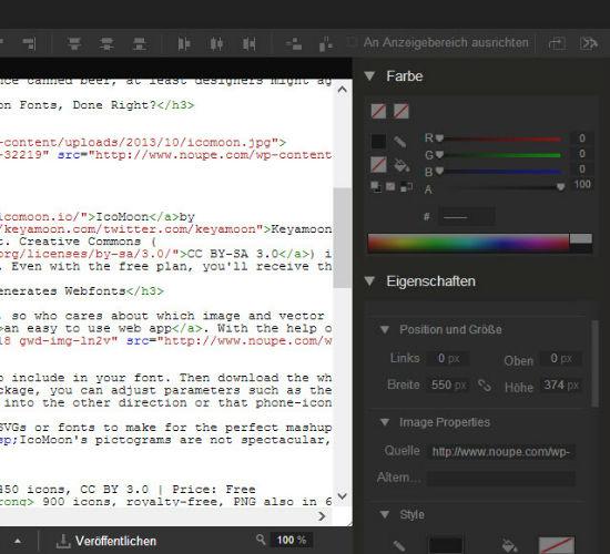 google-webdesigner-codeview