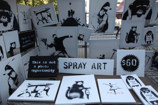 Infographic Ideas infographic illustrators society of new york : Banksy in New York: Controversy, Adversity, and Exposure - noupe