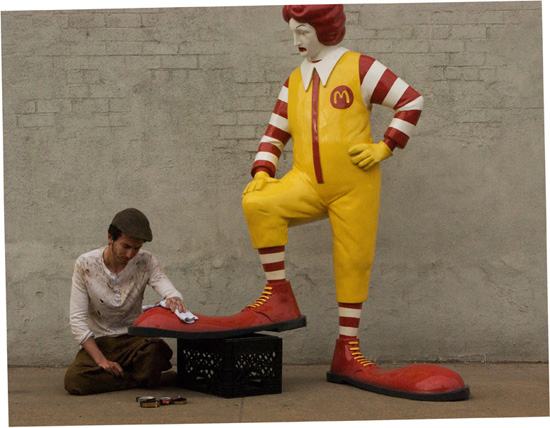 What does ronald mcdonald look like