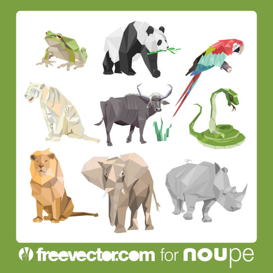 Freebie of the Week: Jungle-Artwork, Noupe Exclusive by FreeVector.com