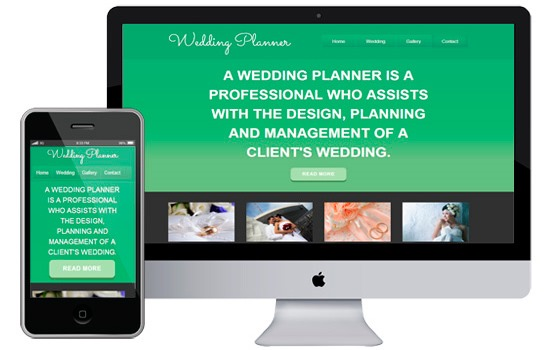 Weddingplanner theme