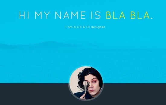 Bla Bla's template