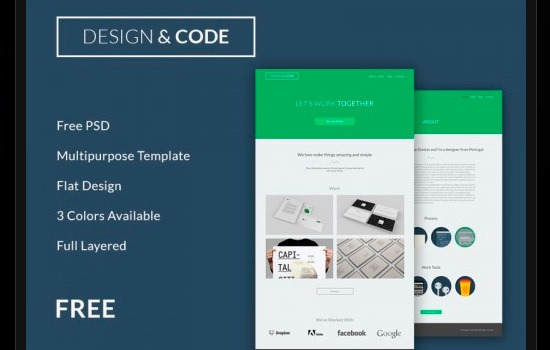 design&code template