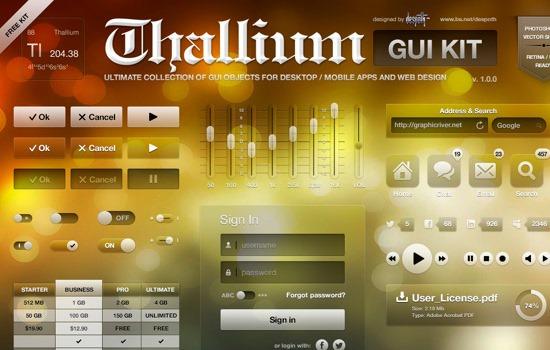 thallium GUI