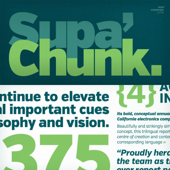 Deal of the Week: Verb, Family of 72 Superb Fonts for 50 Cent Each