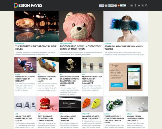 designfaves-landingpage
