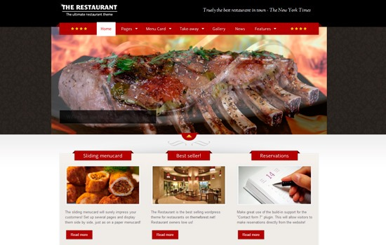 The restaurant theme