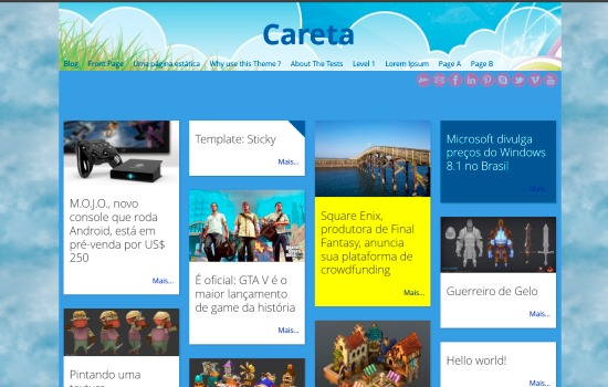 careta theme
