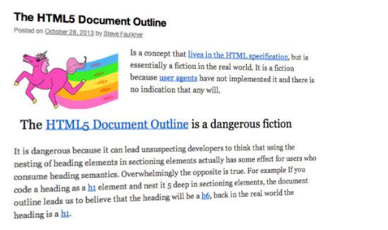 html5outline