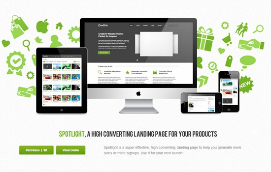 Spotlight HTML theme