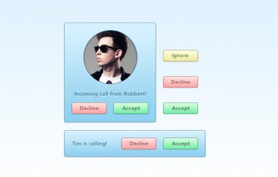 Incoming Call UI kit
