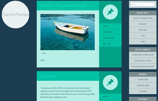 Flounder theme