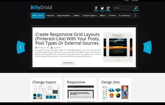 BillyDroid theme