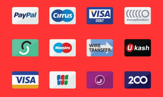 E-commerce Freebie on Noupe: 50+ Credit Card Flat Icons by Freepik