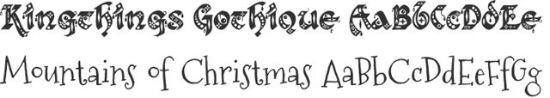 weihnachten_fontsquirrel