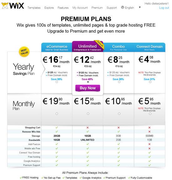 wix-premium-plans
