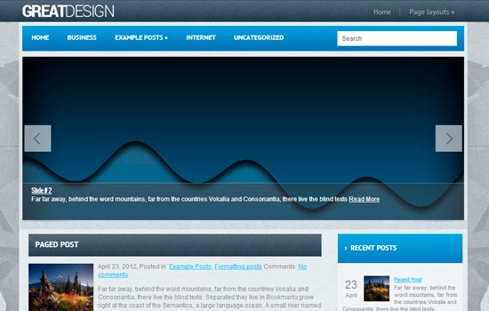 GreatDesign theme