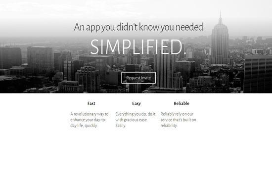 Every web service template