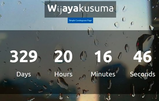 Wijayakusuma landing page