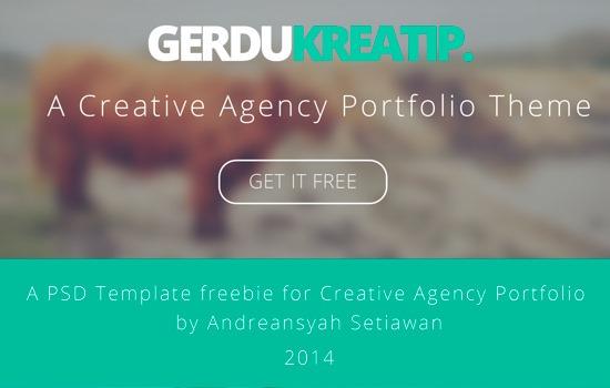 GerduKreatip PSD template