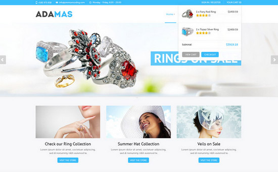 Adamas-_-ecommerce-website-template