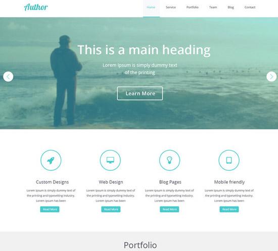 Agency-Web-Template