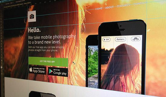 App-Website-Template