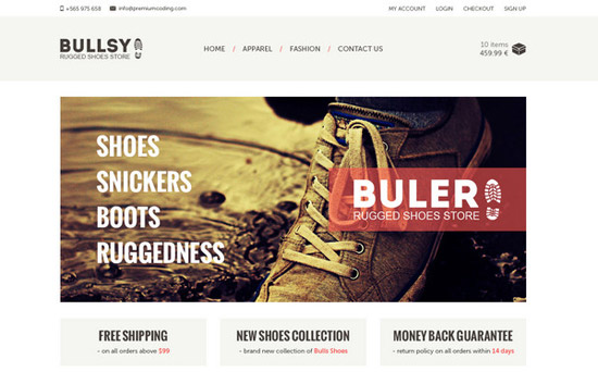 Buler-_-ecommerce-website-template