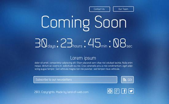 Clean-Elegant-Coming-Soon-Page