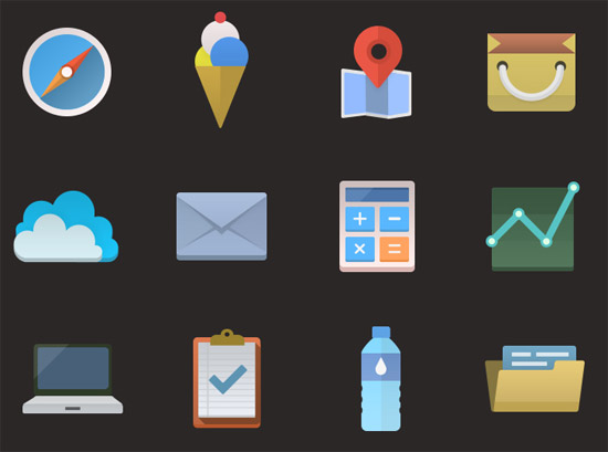 Colorful-icons
