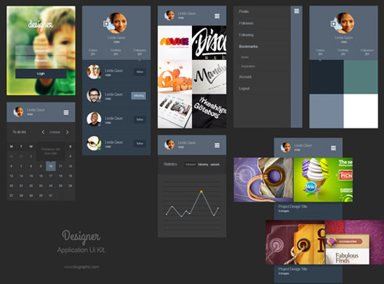 Designer-Portfolio-App-Ui-Kit