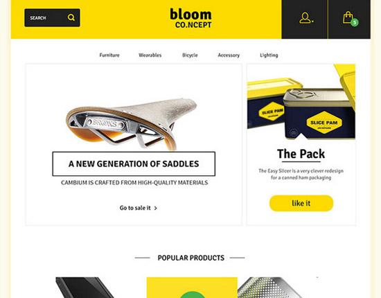 E-Commerce-Theme-Concept