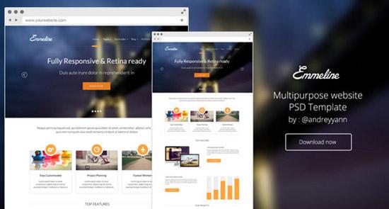 Emmeline---Multipurpose-website-PSD-Template