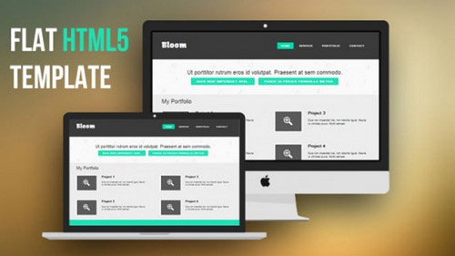 Flat-HTML5-Website-Template