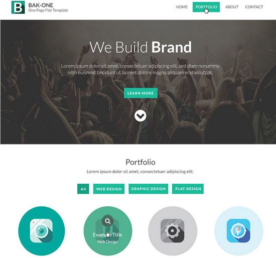 Flat-Style-Single-Page-Website-Design-Template