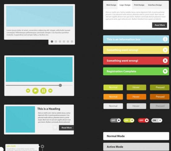 Flat-UI-Kit-PSD