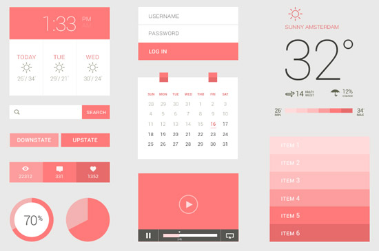 Flat-UI-Kit-by-Sebastiaan-Scheer