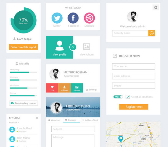 Flat-UI-Kit-webdesignerdepot