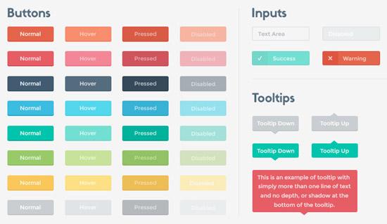 Flat-User-Interface-Kit