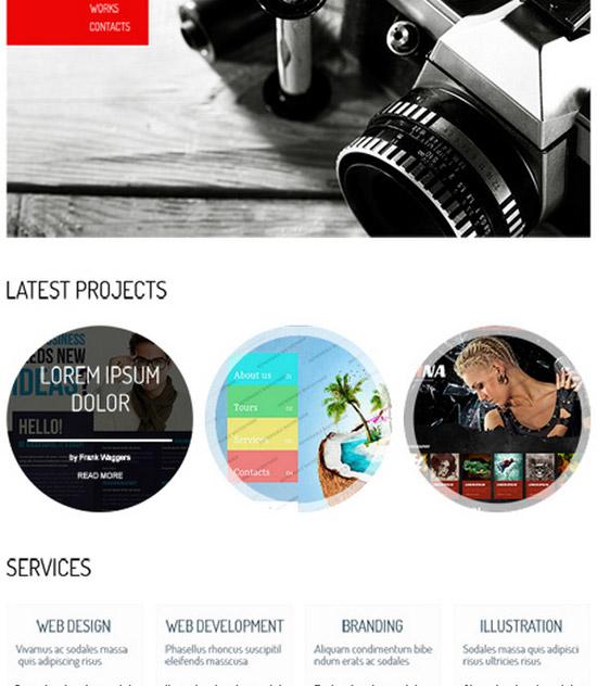 HTML5-Theme-for-Portfolio