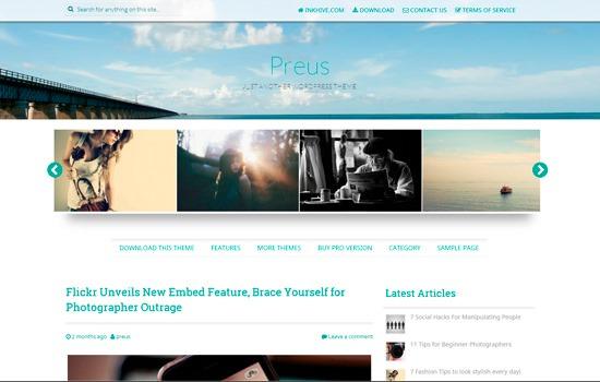 Preus WP theme