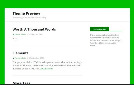 Minimal is the New Black: 20 Fresh Free WordPress Themes from ...