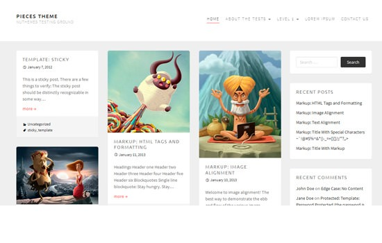 Minimal is the New Black: 20 Fresh Free WordPress Themes from ...