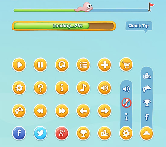 Mobile-Game-GUI