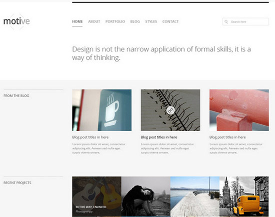 Motive-Minimal-Homepage-Layout