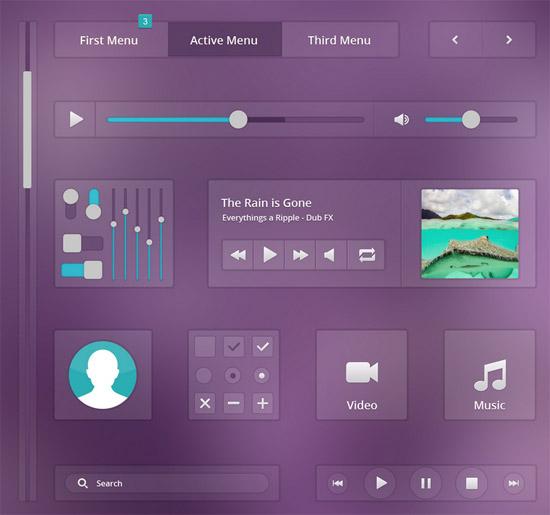 Music-Ui-PSd