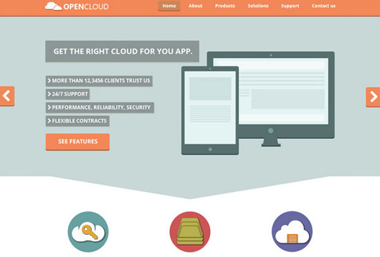 Open-Cloud-PSD-Template-by-Awhin