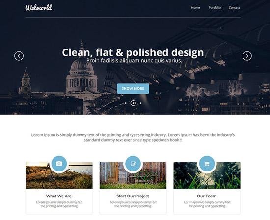 Professional-Corporate-Web-Design-Template