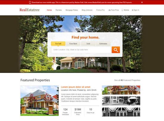 Real-Estate-Website-by-Madan-Patil