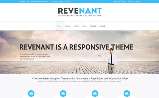 Revenant-Home-Page